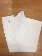 Fred Perry White Jeans, 14